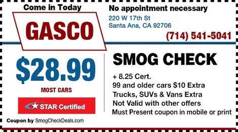 Gasco Smog And Repair Santa Ana California