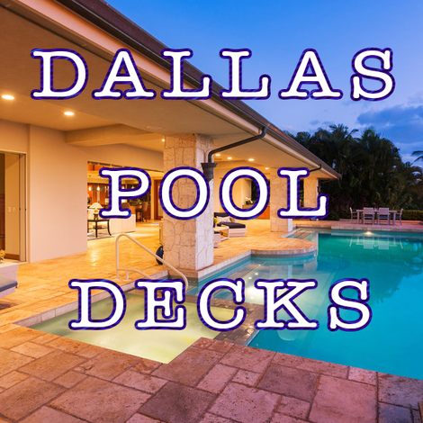 Dallas Pool Decks Dallas Texas
