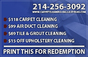 Carpet Cleaning Dallas Texas