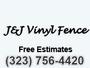J & J Vinyl Fence