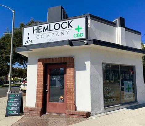 Hemlock Company CBD • Whittier • California • https://hemlockcompany com