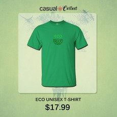 Create an Impressive look by wearing ECO UNISEX T-SHIRT