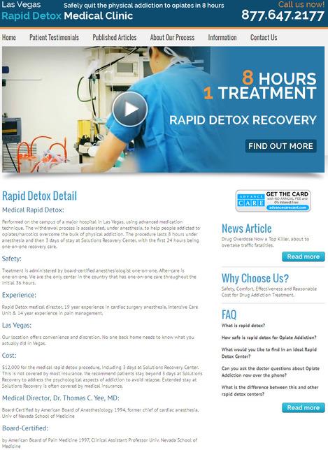 Safe Rapid Detox