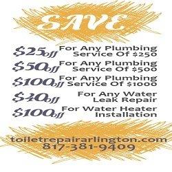 Toilet Repair Arlington TX