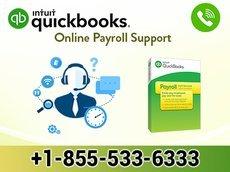 QuickBooks Online Payroll Support +1-855-533-6333