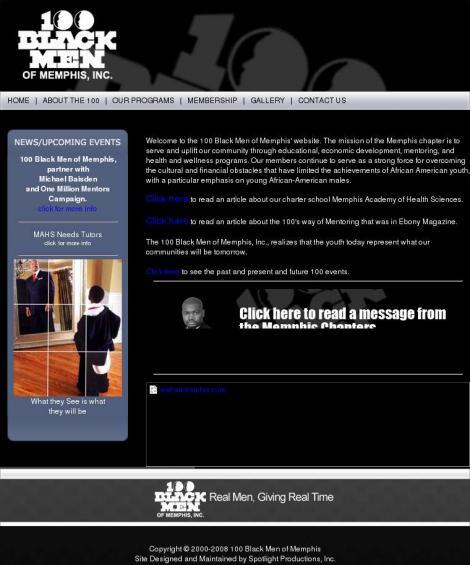 100 Black Men Of Memphis Memphis Tennessee
