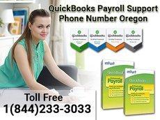 +1(844)233-3033 QuickBooks Payroll Support Number Oregon