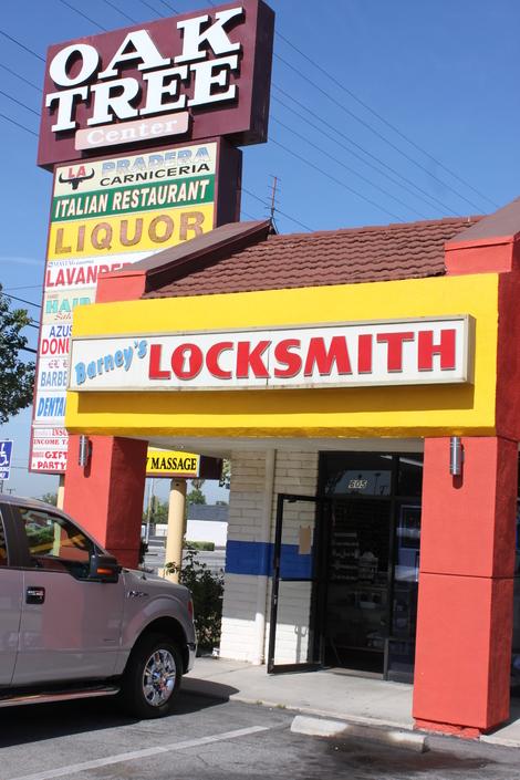 Barney's Locksmith • Azusa • California • https