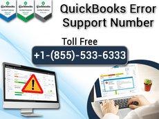 QuickBooks Error Support Number +1-855-533-6333