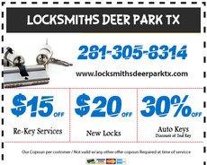 Locksmith Deer Park TX