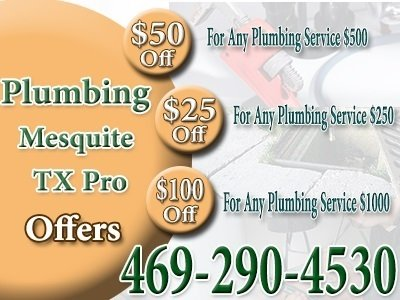 Plumbing Mesquite TX Pro