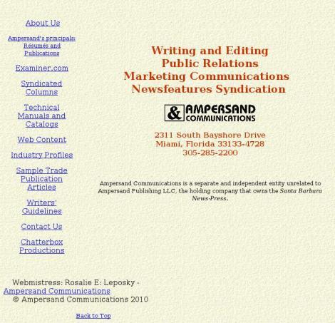 Ampersand Communications