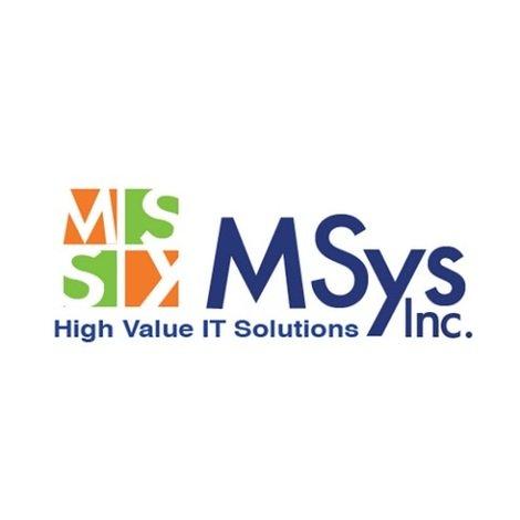 MSys Inc • Washington • msysinc com
