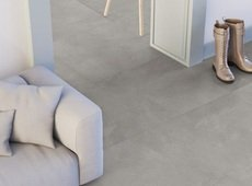 Bella Via Concrete Gris Porcelain Tile