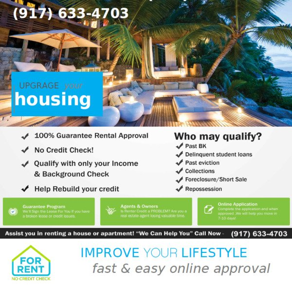 Luxury No Credit Check Apartment Approval Service Seattle WA