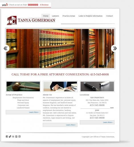 Tanya Gomerman, Attorney at Law • San Francisco • California