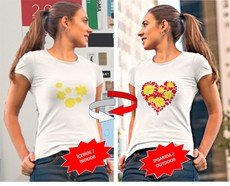 Nano Technological Color Changing T-Shirt