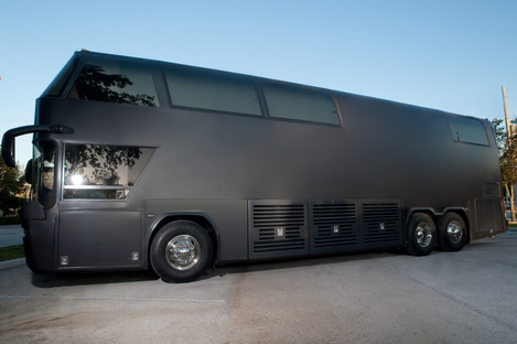 Miami Party Limo Bus