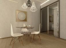 GIZA GLASS DINING TABLE