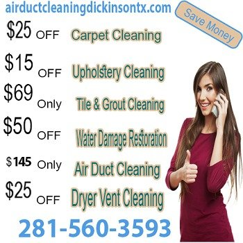 Air Duct Cleaning Dickinson TX