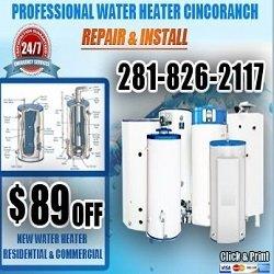 Water Heater Cinco Ranch