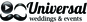 Universal Weddings and Events