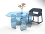 New York Custom Glass Furniture