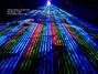 Full Rainbow Laser Fan High Power Lighting Rentals